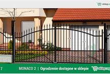 Ogrodzenie klasyczne MONACO 2