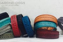 Boho Dog / Dog collar and leashes from www.vagabond-dogs.com