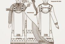 Skandynawia strój kobiecy