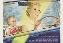 Automotive Wall Art / Vintage Auto Related Advertisements
