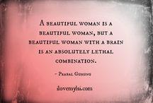 Empowering Women / Memorable quotes