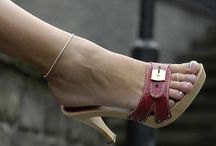 For Her / Images, inspirations of women wearing wooden shoes. Some private pics, webfinds and repins.