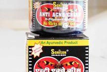 Combo of 4 Sonison Herbal Ayurvedic Anto Acne Cream 40g