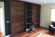 Bookshelves / cabinets/ buffets