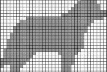 Små diagram strikk