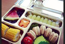 Lunchbox Inspiration / Ideas for filling my kids' school lunch boxes (and especially for the Planetbox Rover).