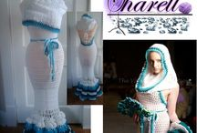 шикарные вязаные платья
