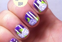 Flower Nail Art / by Rose Stumbaugh