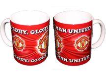 Manchester United Drinking Mugs & Glasses / Official Manchester United Drinking Mugs & Glasses