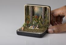 miniatures in a tin