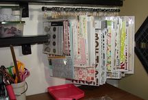 scrapbook storage cabinet ideas