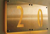 Number Signage Panels