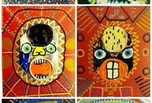 Arty soda cans