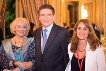 Alianza Francesa de Campana con el Sr. Embajador de Francia.