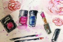 Watercolor / Watercolor sketch aquarelle