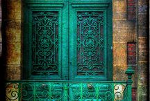 beautiful doors, windows / mystical ways