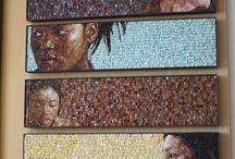 mosaik portrait
