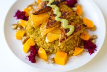 Gorgeous Vegan Food - Dinner / Vegan food that makes me drool. I don't really cook, but a girl can dream. / by Cosmo