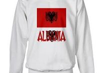 "Albania from Auntie Shoe / Stuff about #Albania. Designs on products usually created by @AuntieShoe.  Only Auntie's print-on-demand (POD) designs should appear here. BUT, if you would like to pin non-POD items to this board, make a comment on one of my pins and request that I add you. You will need to ""follow"" @AuntieShoe, or she can't add you. That is Pinterest's policy, not Auntie Shoe's."