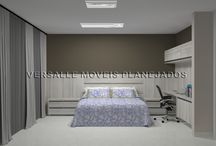 PROJETOS EXECUTADOS PELA VERSALLE MOVEIS / Novos móveis projetados e executados pela Versalle Moveis.