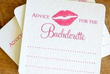 Wedding - Batchelorette and Bachelor party / by Arielle Bourgoin