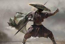 サムライ、戦士