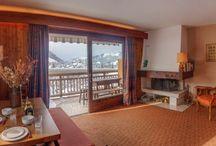 Properties close to the ski slopes