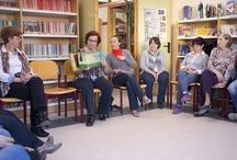 Taller de Cuentoterapia organizado por el Club de Lectura / El sábado 13 de abril, el Club de Lectura de Ejea organizó un taller de Cuentoterapia en la Biblioteca Municipal