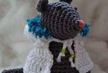 Knuffels haken [Crochet puppets] {Crochet les poupée}