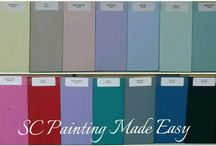 SC Painting Made Easy Australian made chalk saturated paint / All Australian made chalk saturated paint. Premium quality and affordable with a beautiful silky finish. Buy Australian, support Australian business.