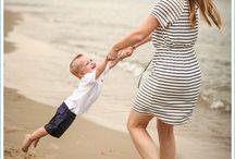 moeder en kind shoot