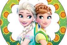 Ana si Elsa - Regatul de gheata