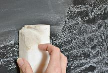 Kitchen chalkboard / by Katelyn Eisenhour