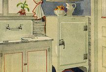 Vintage kitchens and kitchen goods / by Marie Carriker