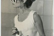 Vintage / scenography, 60s design, disco, groove, flow