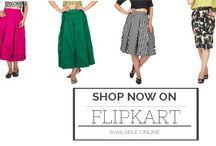 VODKA Skirts this spring / Fashionique VODKA Skirts now available on Flipkart #Skirts#VodkaFashion#Fashion#Pop#Colors#Glamrous  Shop Online: http://goo.gl/SB4LV7