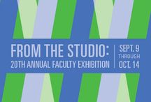 2016-17 Exhibitions / Shows in the Toni and Stuart B. Young Gallery, 600 N. Market St., Wilmington, at DCAD.