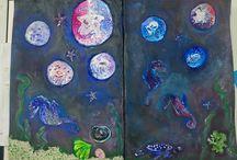 Rękodzieło - Art Journal / Rękodzieło powstałe podczas warsztatów w Sklepie Farby i Kredki