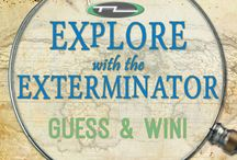 Explore with the Exterminator / Play #ExploreWithTheExterminator with Titanium Laboratories on #Facebook - Guess & Win!