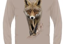 Fox T-shirts / Show your passion & extraordinary fashion! Cover your body with cutting edge 3D Fox t-shirt by HILLMAN®. Explore all 40+ iconic wildlife designs to show your passion and extraordinary fashion!
