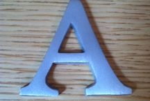Letters / Here are some examples of the Letter Ranges that I sell in my shop and on my web site