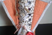 Pringle / Pretzel Holder / Make the holder into some fancy gift holder