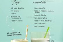 Smoothies y jugos