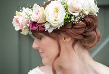 Vintage Wedding Photo Shoot / Beautiful, fragrant and natural flowers styled for a Vintage Themed Wedding.