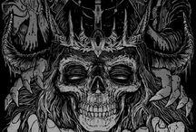 Metal/Goth art