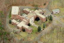 sanatoriums and asylyms