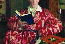 Boris Kustodiev / Boris Michajlovič Kustodiev -  in russo: Борис Михайлович Кустодиев? (Astrachan', 7 marzo 1878 – Leningrado, 28 maggio 1927) è stato un pittore e scenografo russo.