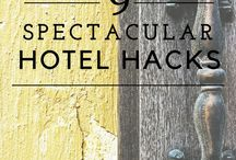 Hotel Hacks / This board is dedicated to making hotel stays more efficient by using these easy hacks.
