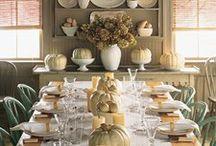 Thanksgiving/Fall Decor / by Ann Heuberger