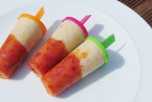 Frozen desserts and Snacks / All about homemade frozen desserts you put in your freezer!  Ice creams, sorbets, ice lollies, frozen yogurt and other frozen treats.
